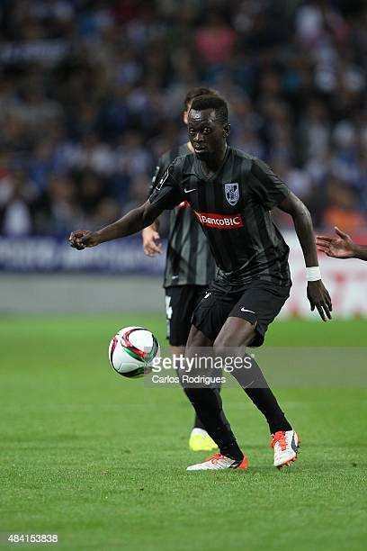 Guimaraes's midfielder Bouba Sare during the match between FC Porto and Vitoria Guimaraes for the Portuguese Primeira Liga at Estadio do Dragao on...