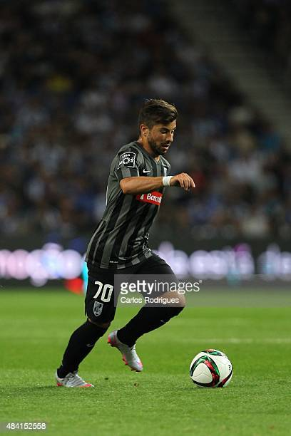 Guimaraes's midfielder Toze during the match between FC Porto and Vitoria Guimaraes for the Portuguese Primeira Liga at Estadio do Dragao on August...