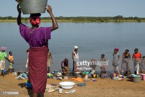 Guinea, Babila, village near Kouroussa