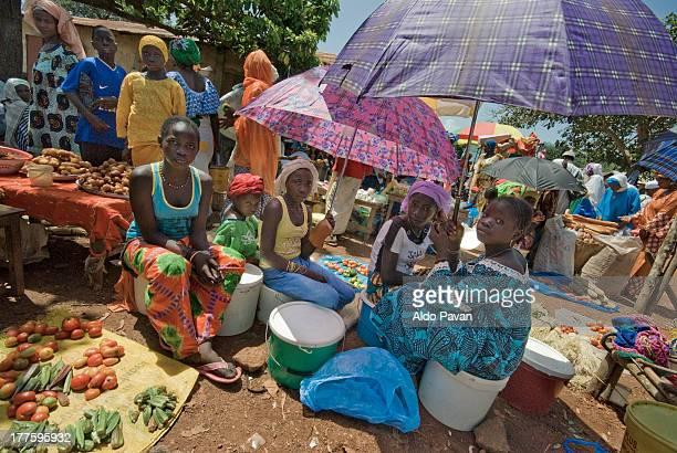 Guinea, Lab?, Diountou, weekly market