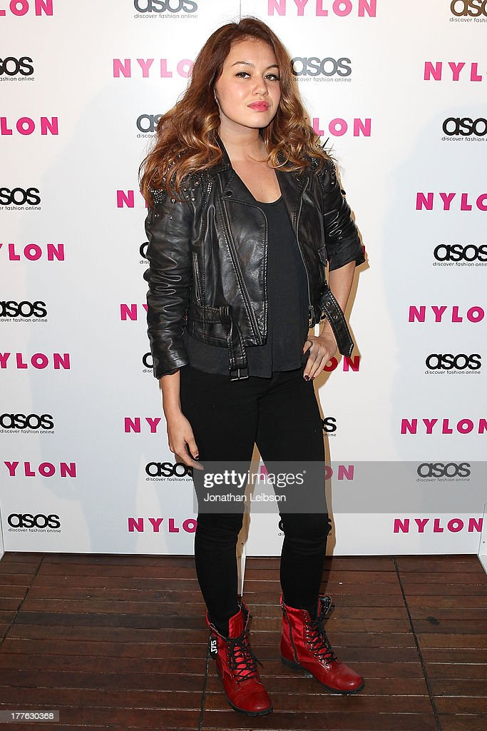 <a gi-track='captionPersonalityLinkClicked' href=/galleries/search?phrase=Guinevere+-+Singer&family=editorial&specificpeople=11543299 ng-click='$event.stopPropagation()'>Guinevere</a> attends the NYLON, ASOS + Cover Star Emily VanCamp Celebrate The September Issue At The Redbury at The Redbury Hotel on August 24, 2013 in Hollywood, California.