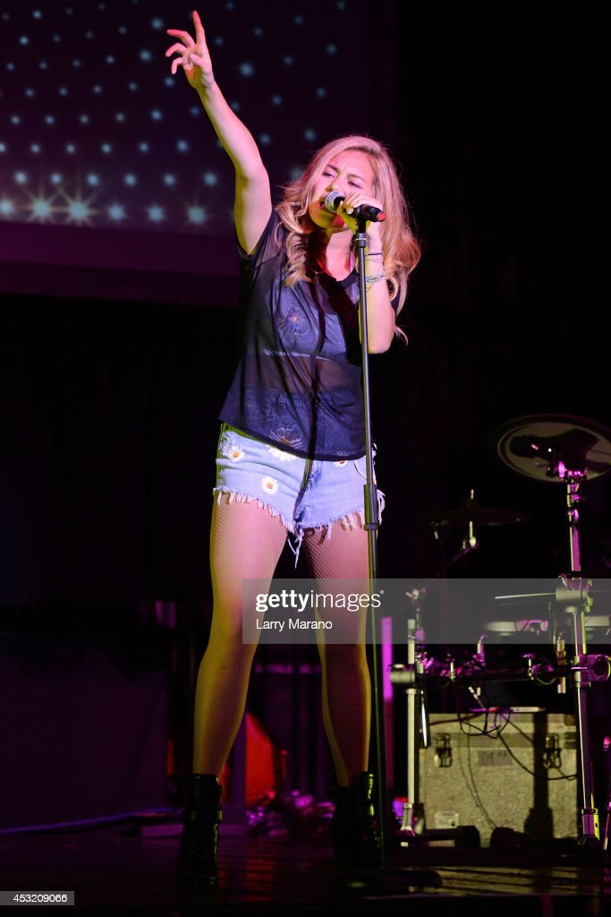 Guinevere performs at Revolution on August 4, 2014 in Fort Lauderdale, Florida.