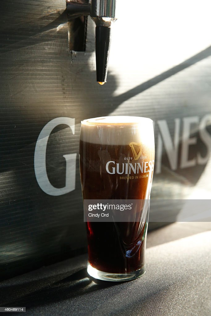 Guinness Beer Hosts An Exclusive Pour And Tasting At KINGSMAN THE SECRET SERVICE Press Junket movie opens Feburary 13 2015 at Gramercy Park Hotel on...