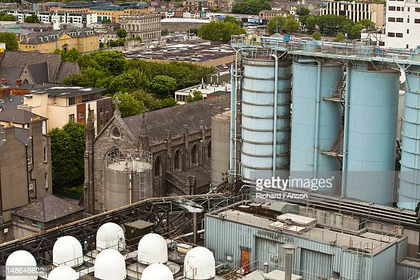 Guinness Storehouse from Gravity Bar.