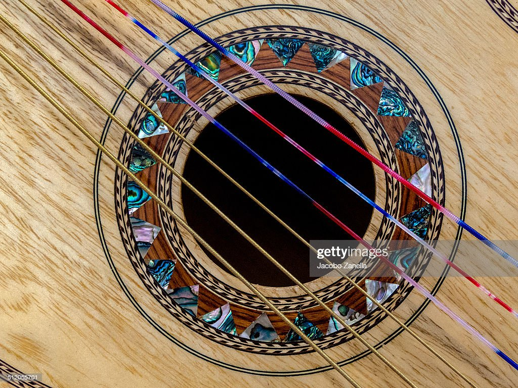 Guitar from Paracho, Mexico