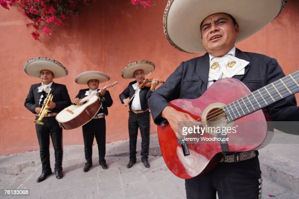 Guitar player in Mariachi band