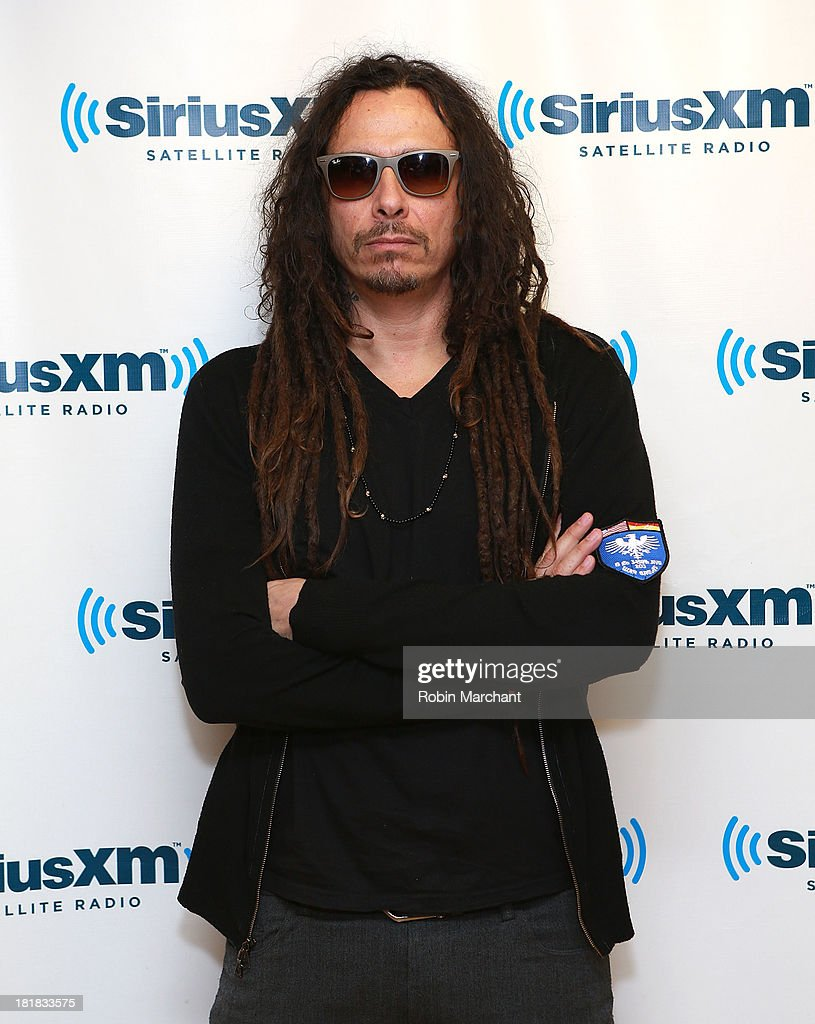 Guitar player James 'Munky' Shaffer of Korn visits SiriusXM Studios on September 25, 2013 in New York City.
