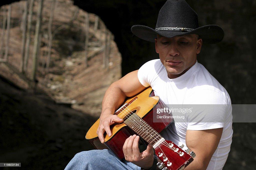 Guitar Player : Stock Photo