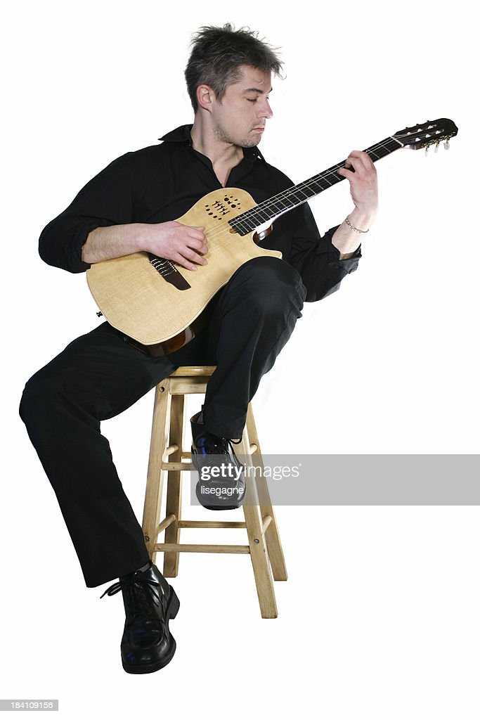 Guitar player sitting (isolated)  sc 1 st  Getty Images & Guitar Playing Stool Stock Photos and Pictures | Getty Images islam-shia.org