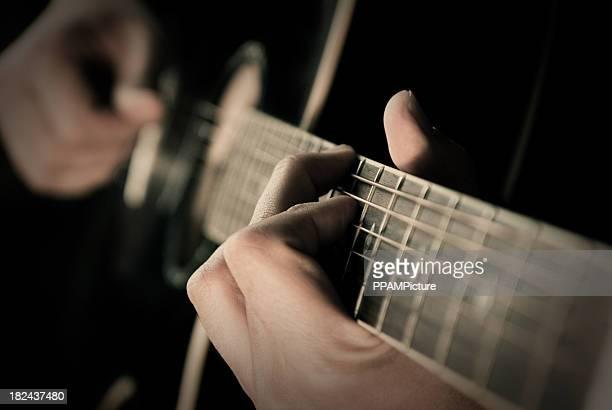 Guitare Pflücken