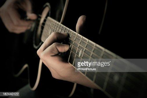 Guitare picking