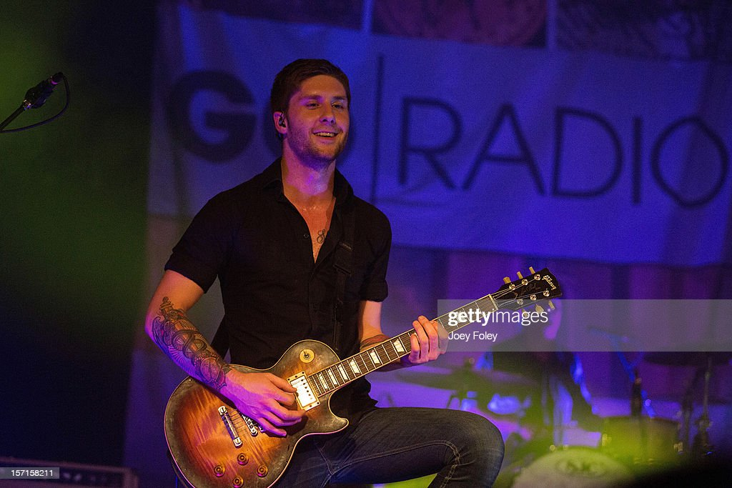 Guitarist Alex Reed of Go Radio performs live onstage at The Irving Theater on November 28, 2012 in Indianapolis, Indiana.