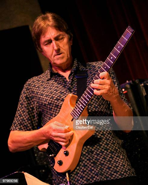 Guitarist Allan Holdsworth performing at Yoshi's in Oakland CA on October 01 2006