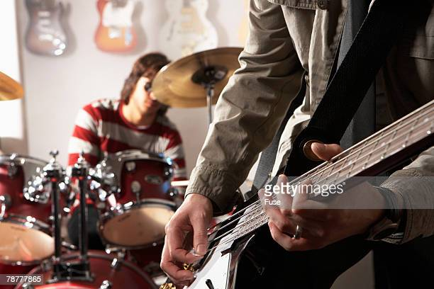 Guitarist and Drummer