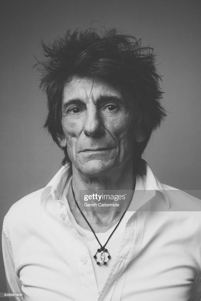Guitarist and rock legend Ronnie Wood is photographed on August 15, 2017 in London, England.