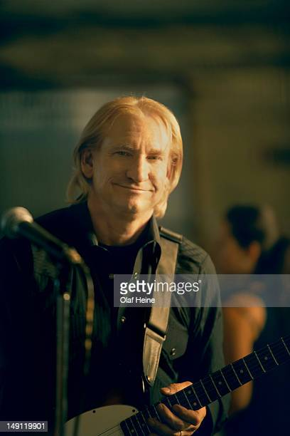 Guitarist and singer Joe Walsh with rock band the Eagles is photographed on March 21 2007 in Los Angeles California