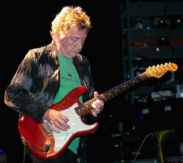 LOS ANGELES, CA - JULY 25:  Guitarist Andy Summers of Circa Zero performs at Circa...