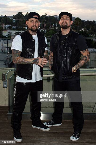 Guitarist Benji Madden and vocalist Joel Madden perform at the ALT 987FM presents Penthouse Party featuring The Madden Brothers at The Historic...