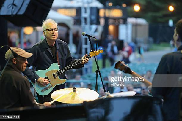 Guitarist Bill Frisell performs at Celebrate Brooklyn at Prospect Park Bandshell on June 18 2015 in the Brooklyn borough of New York City