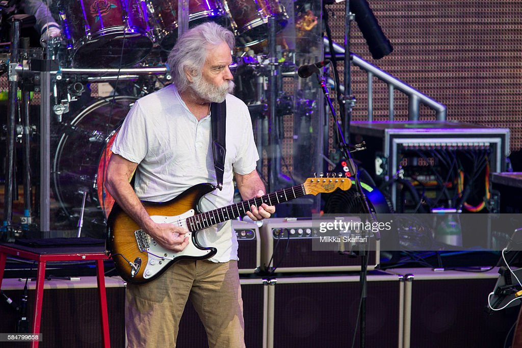 Guitarist Bob Weir of Dead and Company performs at Shoreline Amphitheatre on July 30, 2016 in Mountain View, California.