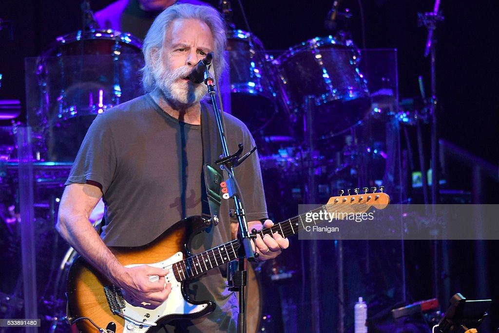 Guitarist Bob Weir of Dead and Company performs during the 'Pay it Forward' concert at The Fillmore on May 23, 2016 in San Francisco, California.