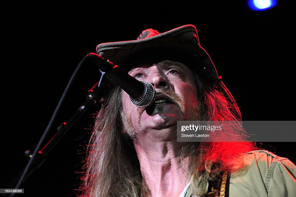 Guitarist Chris Hicks of The Marshall Tucker Band performs at The Orleans Showroom at The Orleans Hotel & Casino on March 9, 2013 in Las Vegas, Nevada.