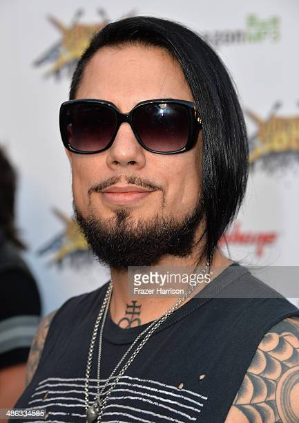 Guitarist Dave Navarro attends the 6th Annual Revolver Golden Gods Award Show at Club Nokia on April 23 2014 in Los Angeles California