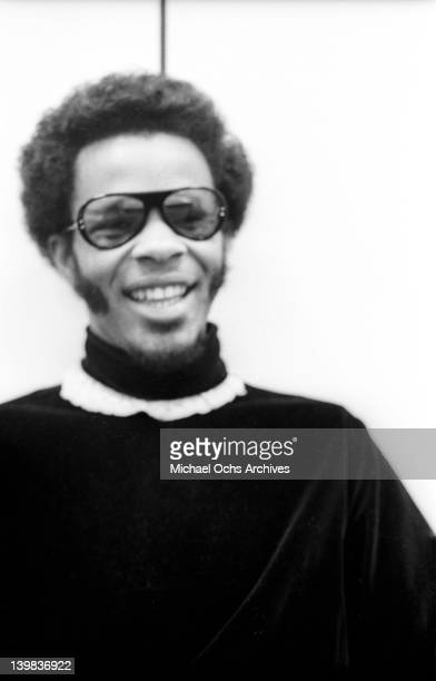 Guitarist Freddie Stone of the psychedelic soul group 'Sly And The Family Stone' poses for a portrait session at CBS Studios on August 1 1968 in New...