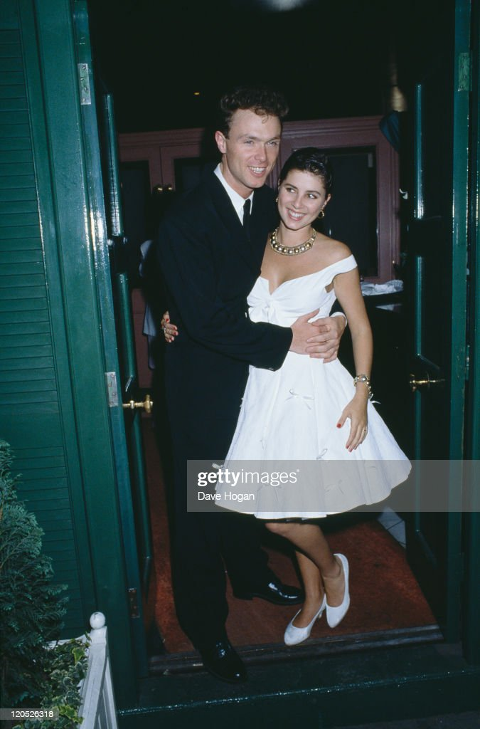 Guitarist Gary Kemp of British pop group Spandau Ballet marries actress Sadie Frost 7th May 1988
