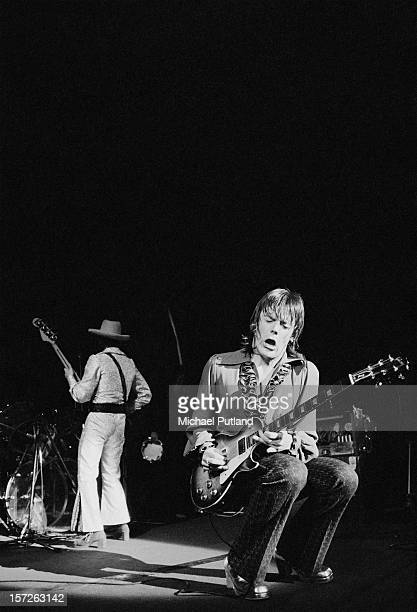 Guitarist J Geils from The J Geils Band performs at the Lyceum in London 30th June 1972
