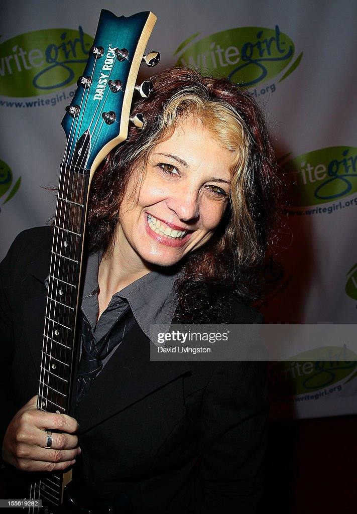 Guitarist Janet Robin attends the Bold Ink Awards at the Eli and Edythe Broad Stage on November 5 2012 in Santa Monica California