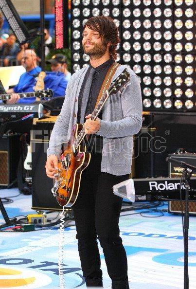 Guitarist Jasper Nephew of Owl City performs on NBCs Today