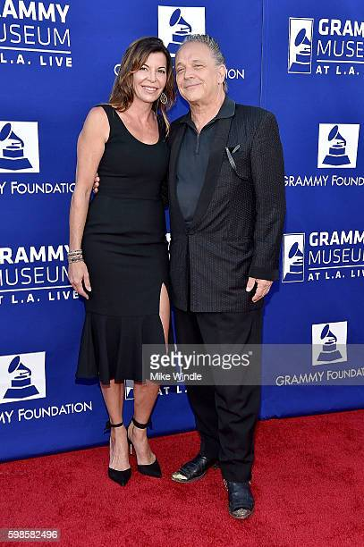 Guitarist Jimmie Vaughan and Robin Vaughan at Icon The Life And Legacy Of BB King a live tribute concert presented by the GRAMMY Foundation and...