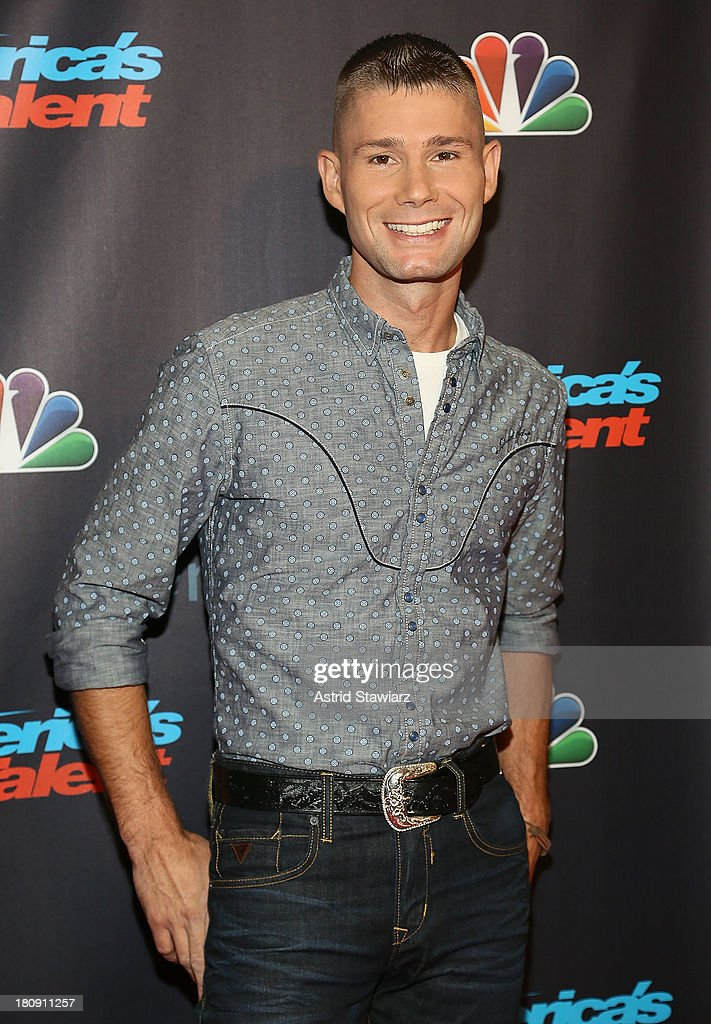 Guitarist Jimmy Rose attends 'America's Got Talent' Season 8 Pre-Show Red Carpet Event at Radio City Music Hall on September 17, 2013 in New York City.