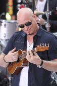 Guitarist Jimmy Stafford of Train performs on NBC's 'Today' Show at Rockefeller Plaza on August 24 2012 in New York City