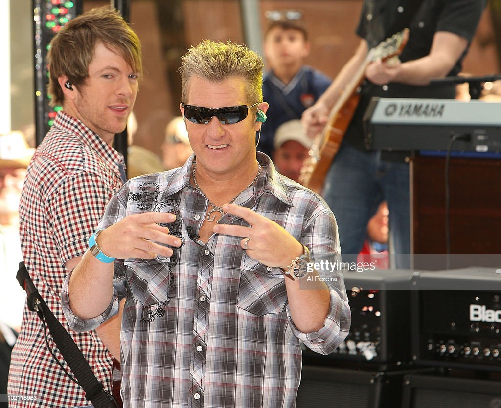 "Rascal Flatts Performs On NBC's ""Today"" - June 11, 2010"