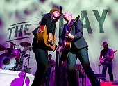 Guitarist Joe King and singer Isaac Slade of The Fray peform at Bridgestone Arena on July 10 2015 in Nashville Tennessee