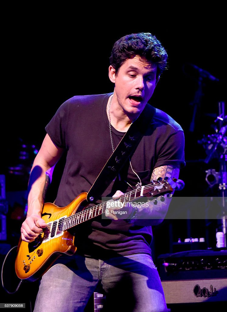 Guitarist John Mayer of Dead and Company performs during the 'Pay it Forward' concert at The Fillmore on May 23, 2016 in San Francisco, California.