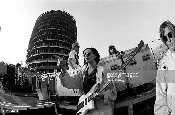 Guitarist John Taylor of Duran Duran live in Los Angeles 1988