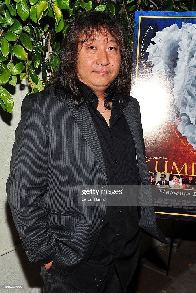 Guitarist Jose Tanaka arrives at the premiere of 'Kumpania: Flemenco Los Angeles' at El Cid on January 31, 2013 in Los Angeles, California.