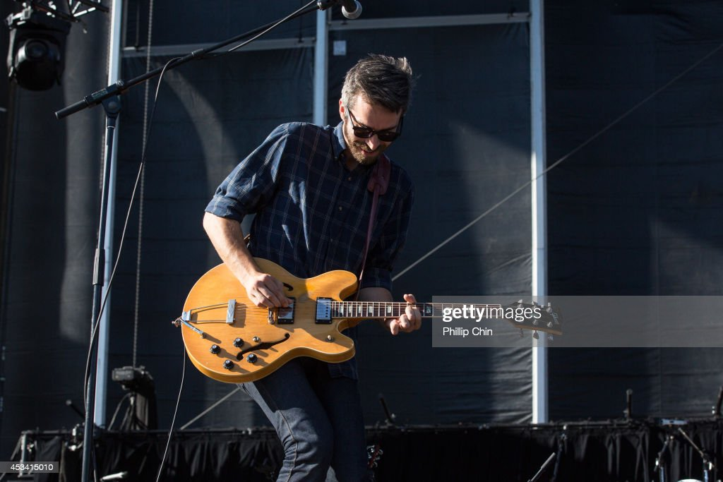 Guitarist Josh Hook of Tokyo Police Club performs at the Squamish Valley Music Festival on August 9, 2014 in Squamish, Canada.