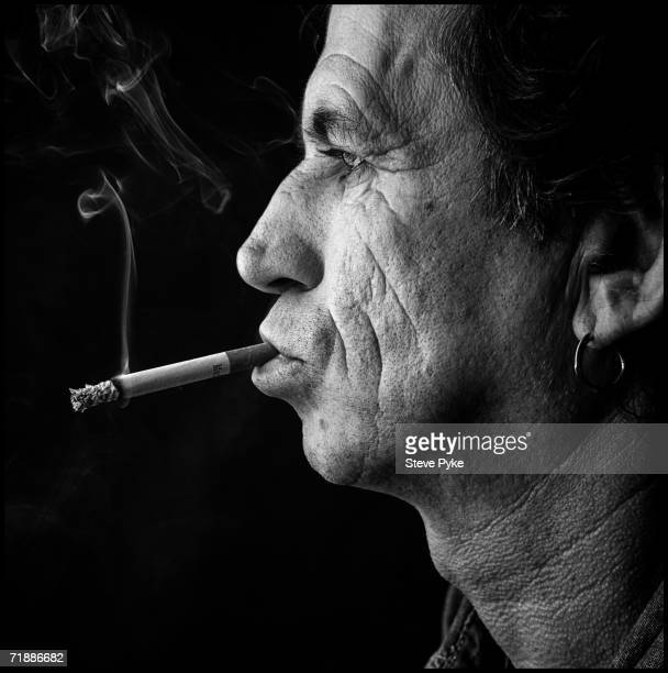 Guitarist Keith Richards of the Rolling Stones at the Union Club on London's Greek Street 19th September 1995