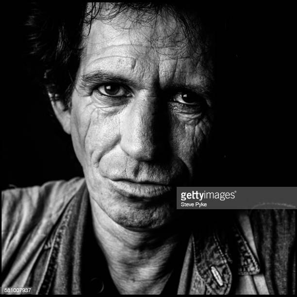 Guitarist Keith Richards of the Rolling Stones at the Union Club Greek Street London 19th September 1995