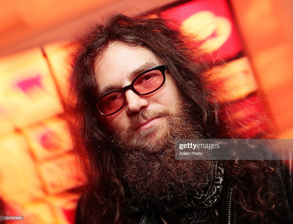 Guitarist Kirk Hellie poses for a photo during the ELLEgirl Night in association with Chrome Hearts at Fiat Caffe on October 26, 2012 in Tokyo, Japan.