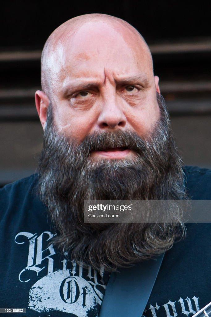 Guitarist Kirk Windstein of Kingdom of Sorrow performs at the 2011 Rockstar Mayhem Festival at San Manuel Amphitheater on July 9 2011 in San...