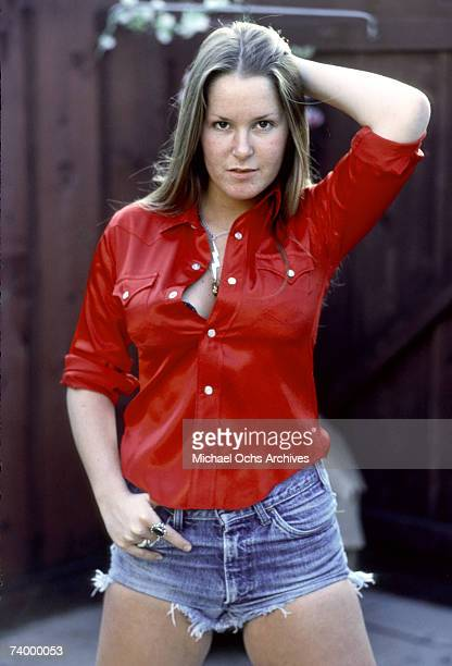 Guitarist Lita Ford of the rock band 'The Runaways' poses for a portrait in Los Angeles in November of 1976