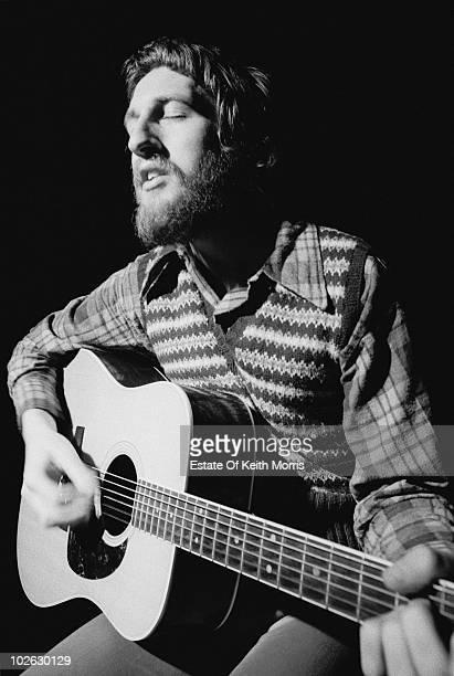 Guitarist Mick Audsley in concert in London 1973