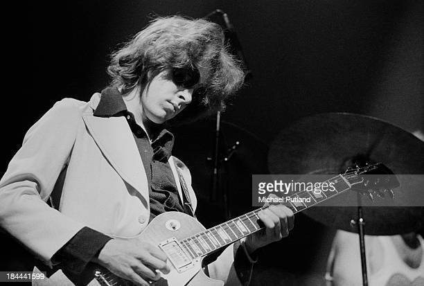 Guitarist Mick Taylor performing with the Rolling Stones at the Olympiahalle Munich Germany 28th September 1973