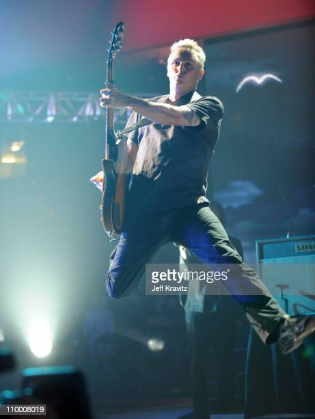 Guitarist Mike McCready of the band Pearl Jam performs onstage at the 2008 VH1 Rock Honors honoring The Who at UCLA's Pauley Pavilion on July 12 2008...