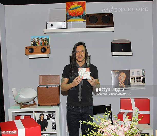Guitarist Nuno Bettencourt attends the 2013 American Music Awards Gift Lounge at Nokia Theatre LA Live on November 24 2013 in Los Angeles California